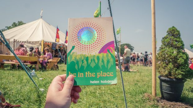 Be In The place - a book set at Glastonbury Festival