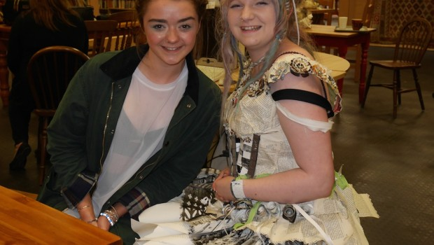 Meeting Maisie Williams