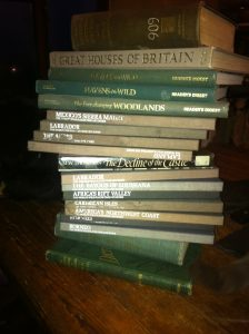 stack of books for making a paper dress