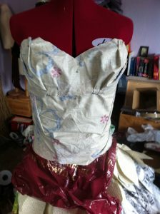 Making a book dress