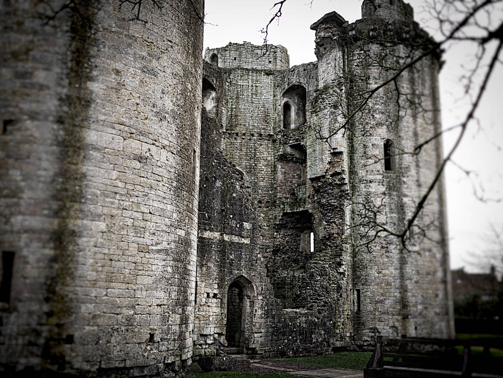 A photoshoot visit to Nunney Castle, nr Frome, Somerset