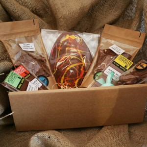 Easter chocolate hamper