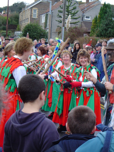 Winterbourne Down Border Morris Dancers