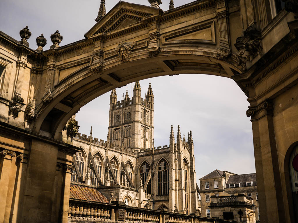 A day in out in Bath during Fashion Week
