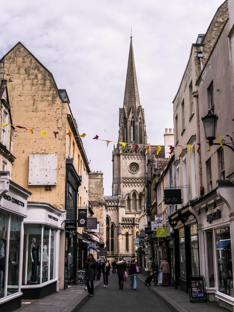 Visiting Bath, Somerset