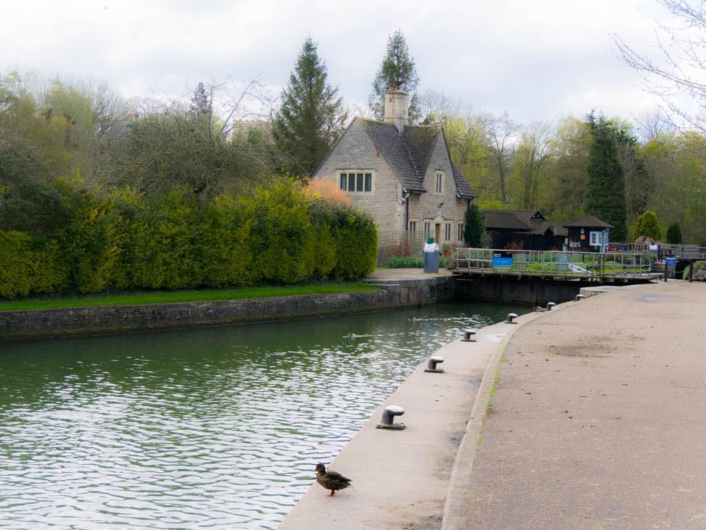 Iffley lock-keeper's house