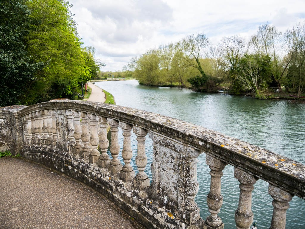 Bridge at Iffley lock, Oxfordshire