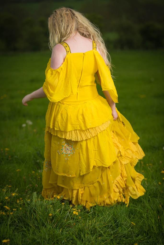 Beyonce in Lemonade-inspired Oshun goddess dress