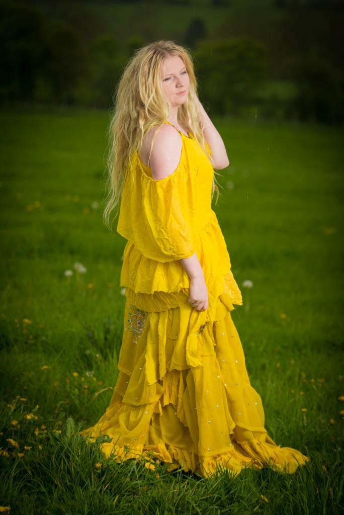 Oshun dress inspired by Beyonce in Lemonade