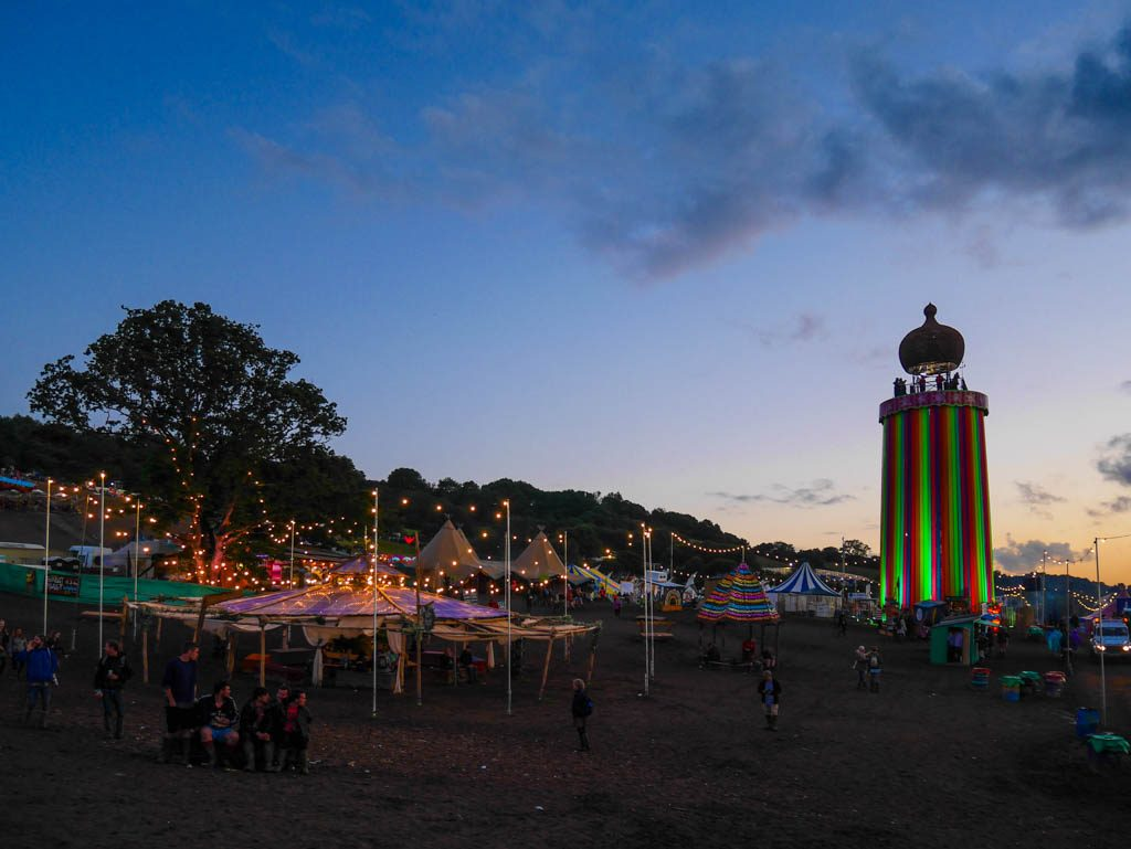 The Park at Glastonbury Festival