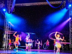 Wookey Hole Circus at Glastonbury