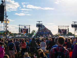 Pyramid Stage at Glastonbury Festival