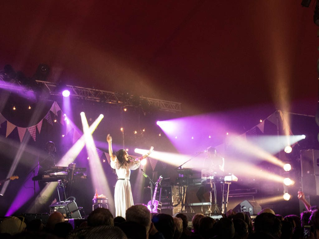 Corinne Bailey Rae at Glastonbury