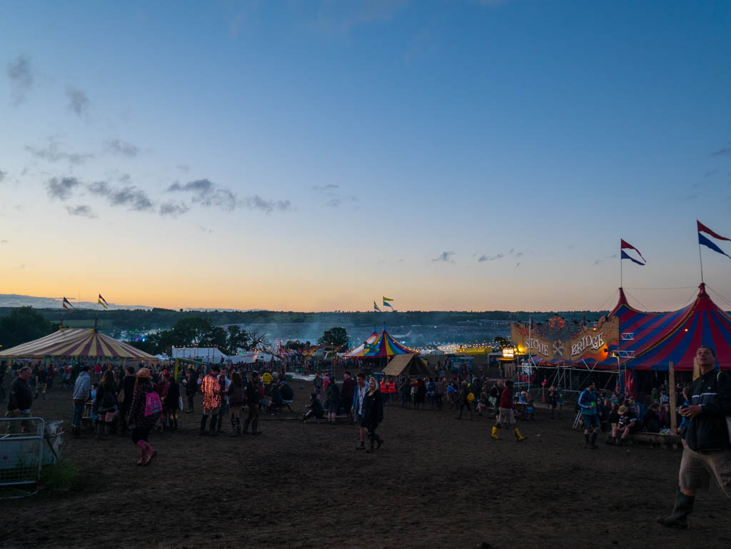 The story of the photographs – Glastonbury Festival 2016
