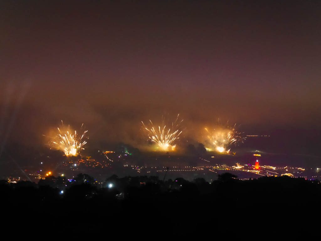 Glastonbury Festival Fireworks