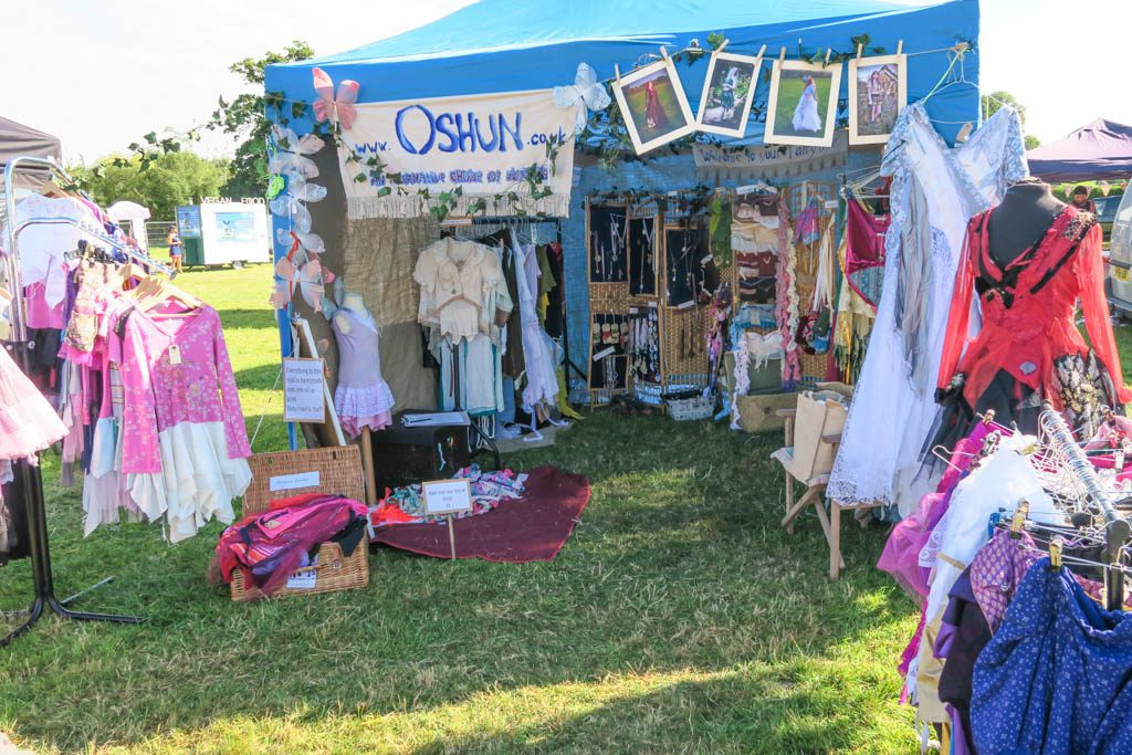 Oshun clothing stall