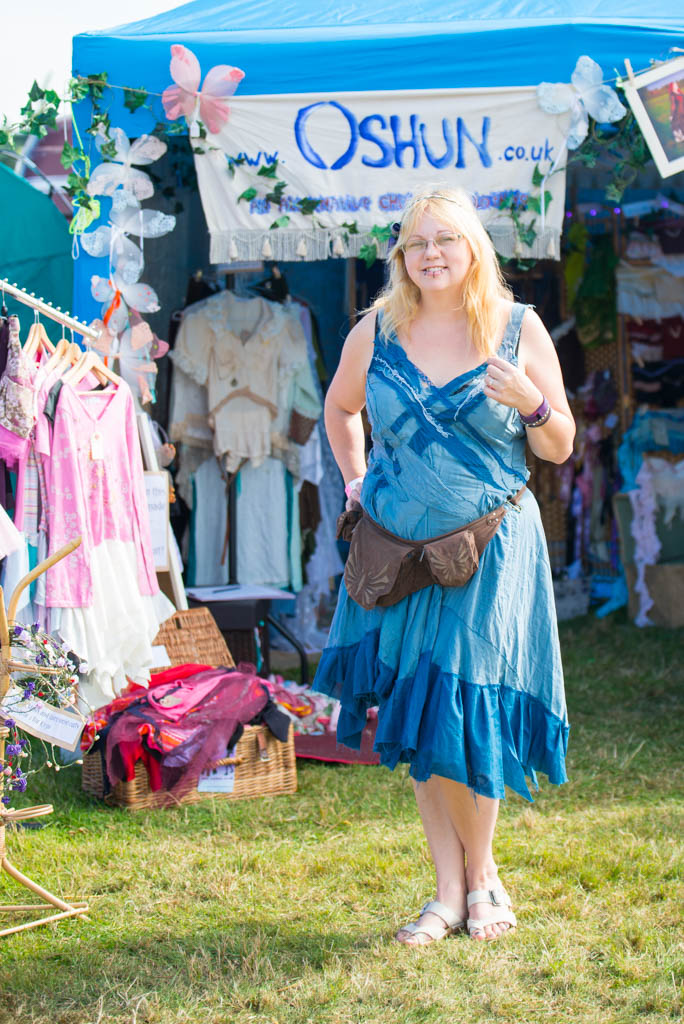 Festival clothing stall
