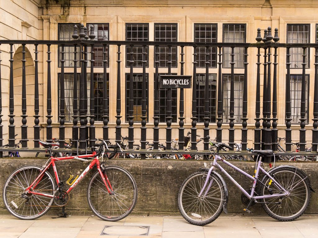 Oxford - No bicylces