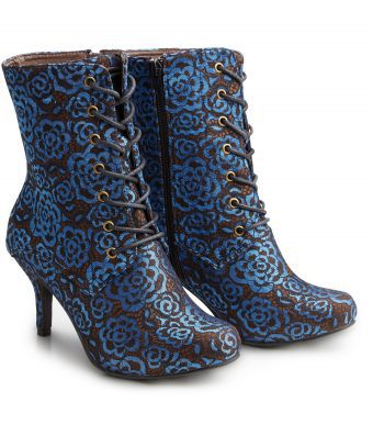 Joe Browns Vintage Victoriana lace Boots