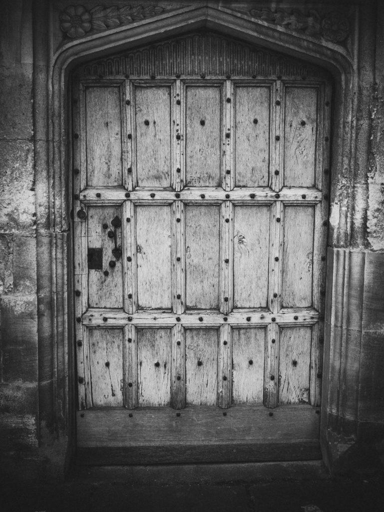 Oxford doorway photo