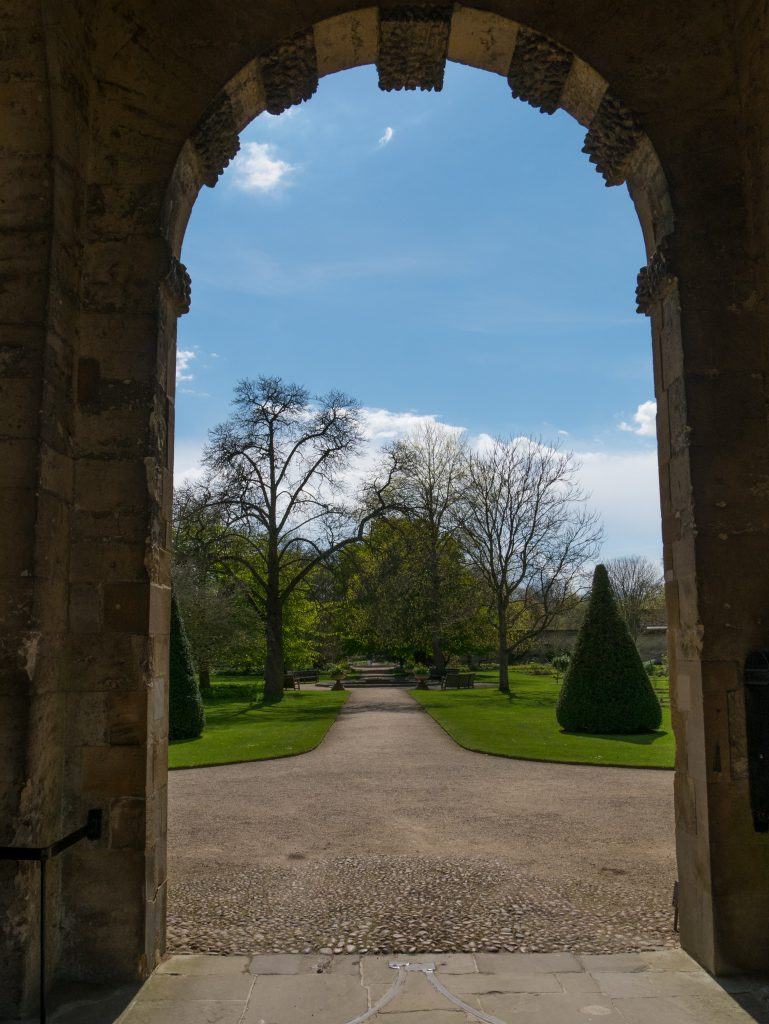 Entrance to the Oxford Botanic gardens