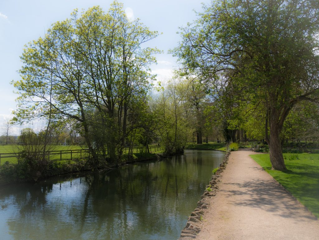 The River Cherwell in Oxford