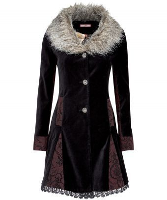 Joe Browns Mysterious velvet Coat