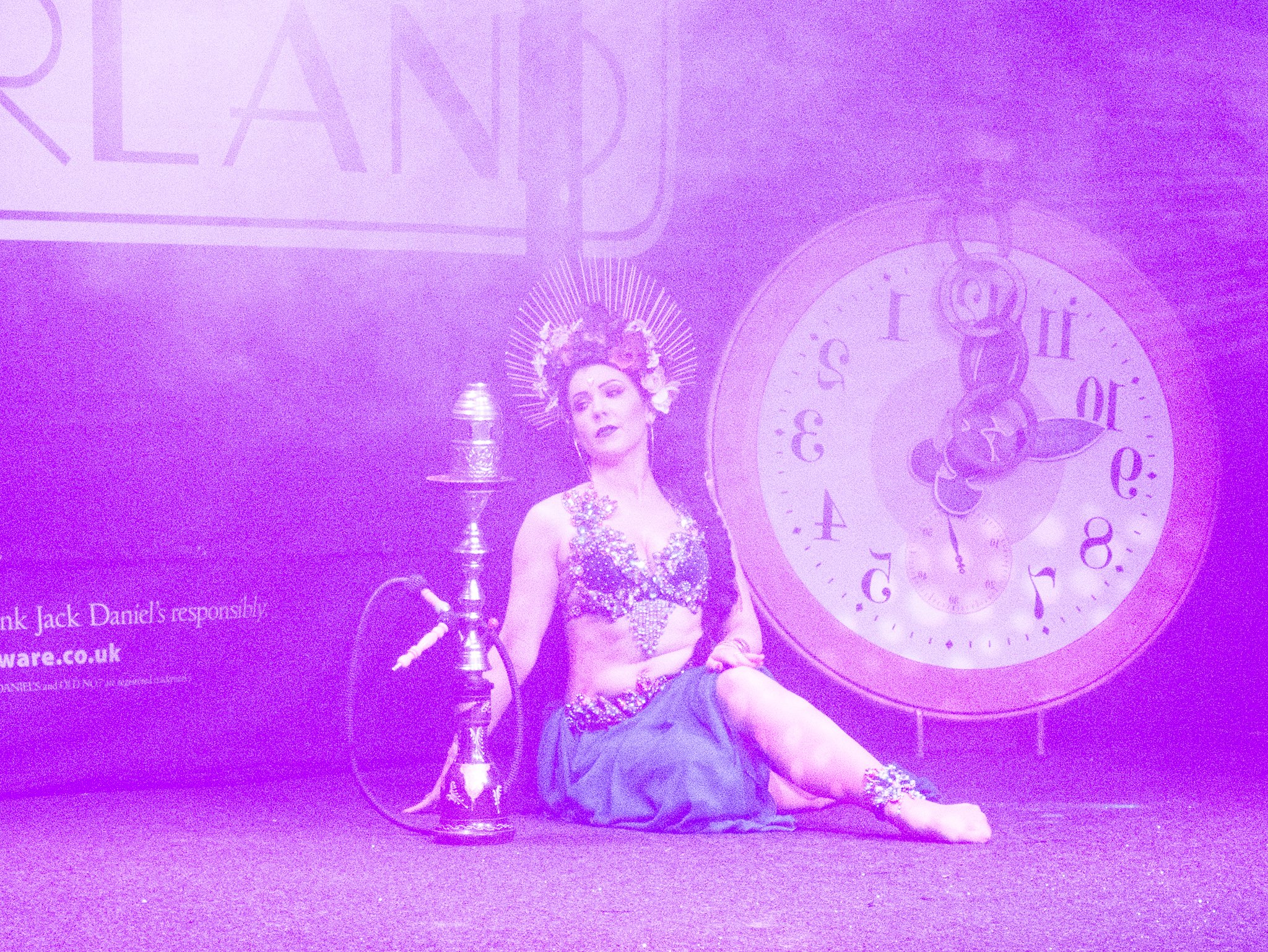 Burlesque Wonderland – Alice through the Martini glass at The Fleece in Bristol