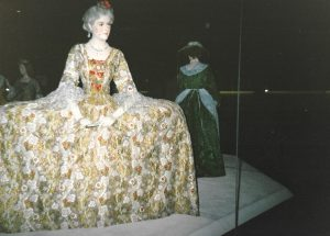 Georgian Court dress (taken 1987)