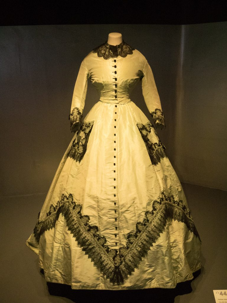 1865 Silk Dress