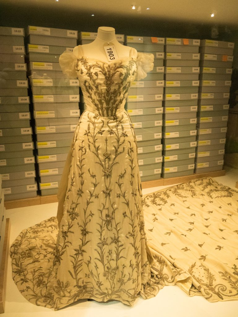 House of Worth gown