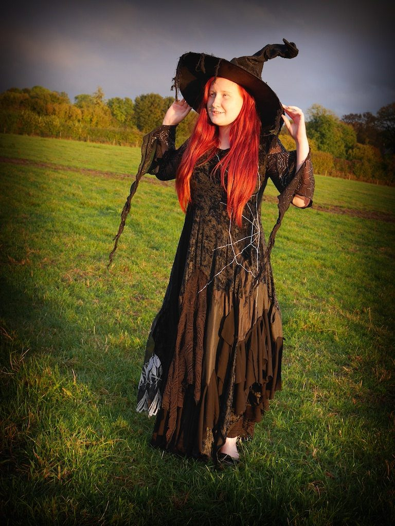 Luxury witch dress