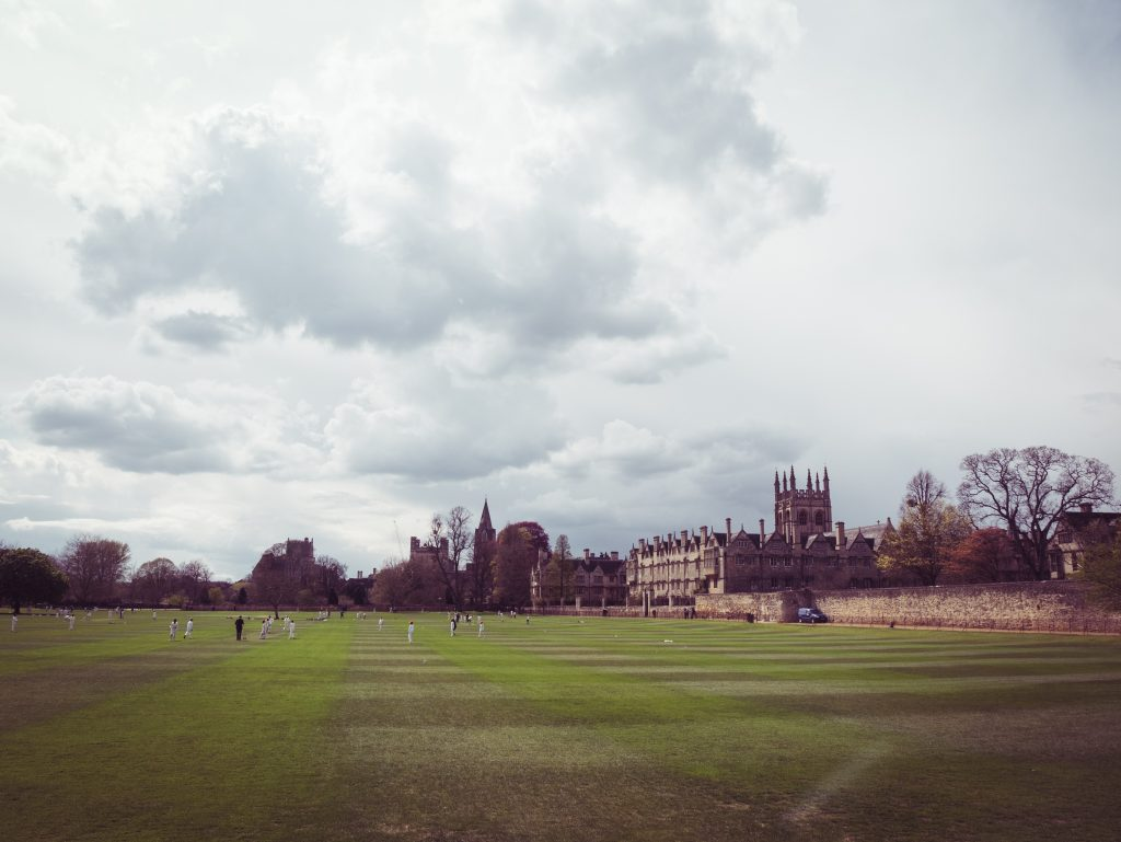 Cricket at Christchurch college