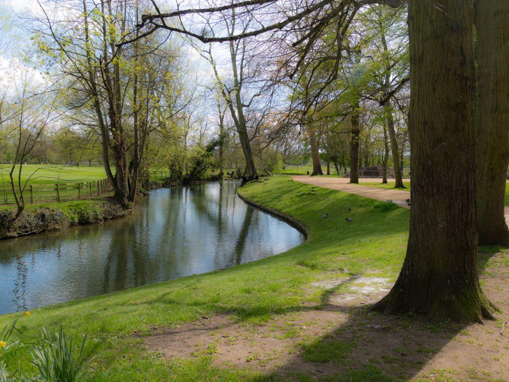 The River Cherwell, Oxford