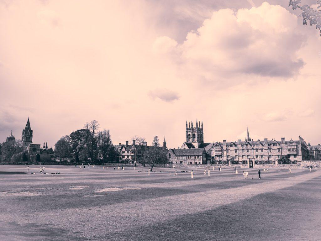 Christchurch cricket pitch