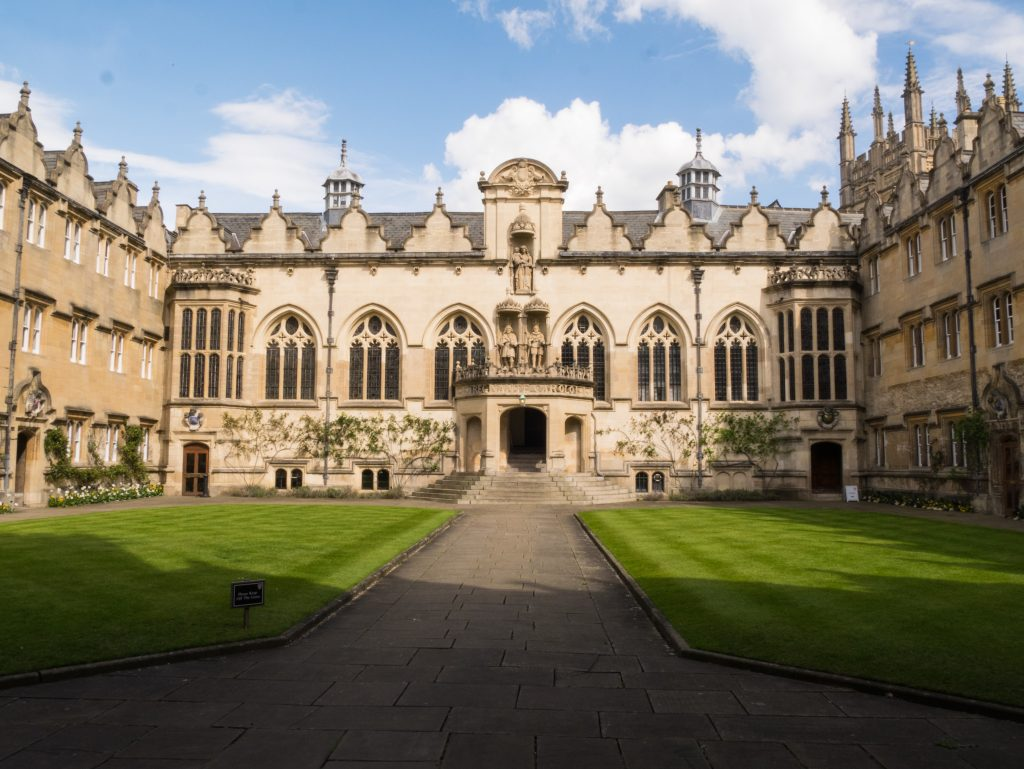 Oriel College photo, Oxford University