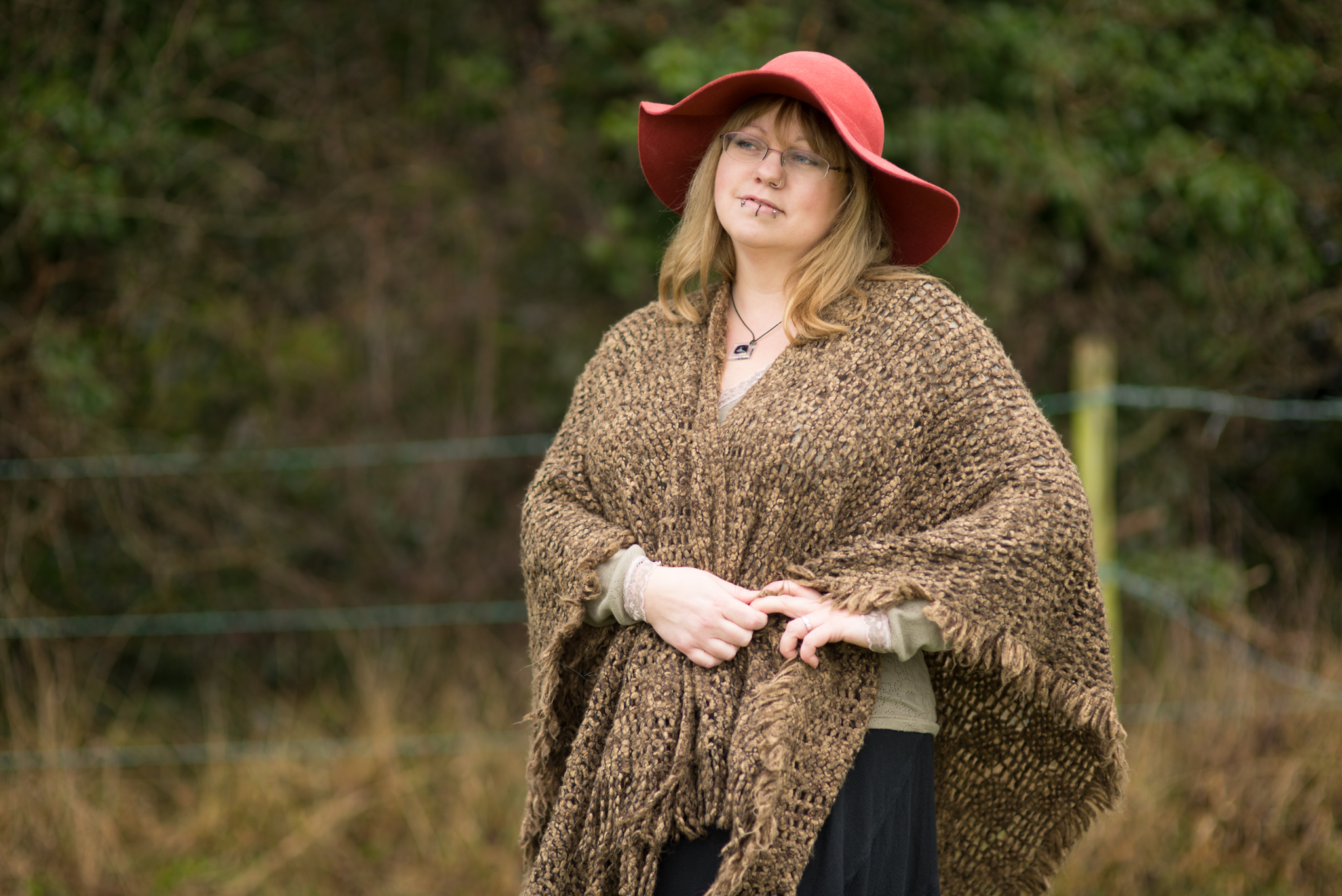Weekly Wardrobe – floppy hat & maxi skirt