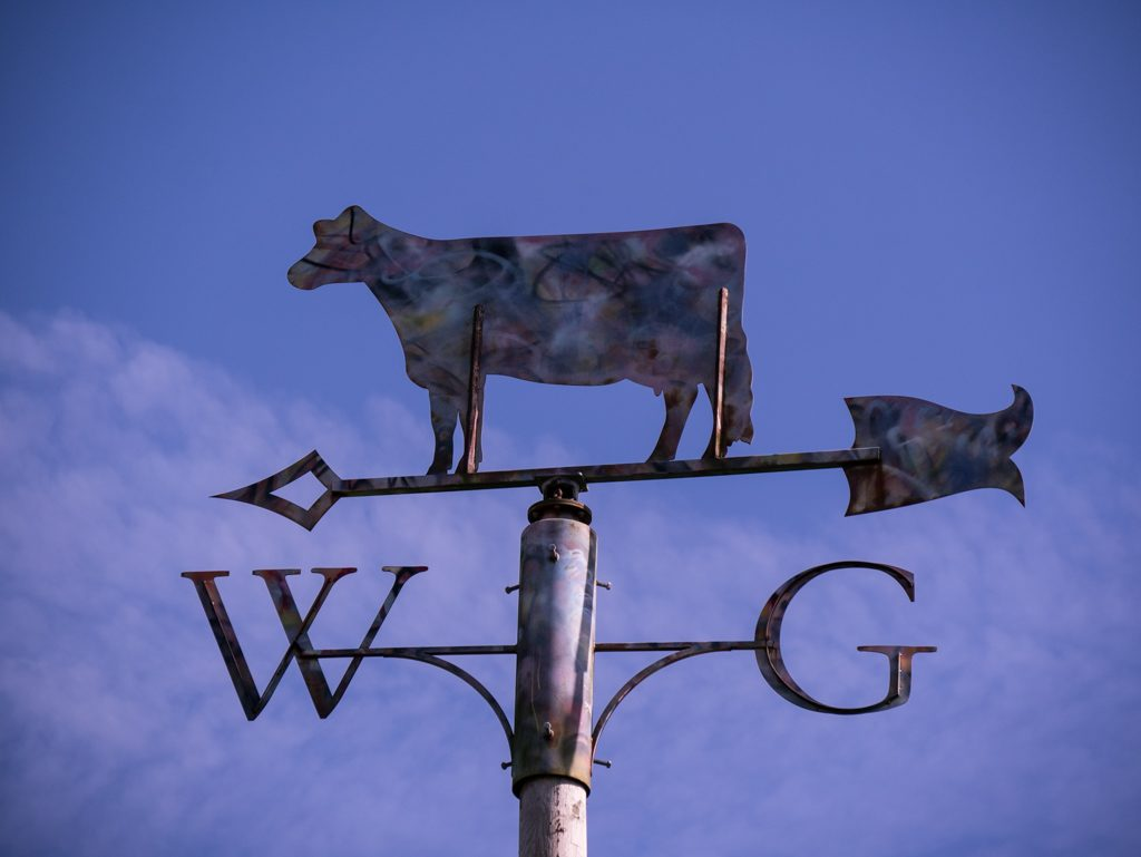 William's green signpost