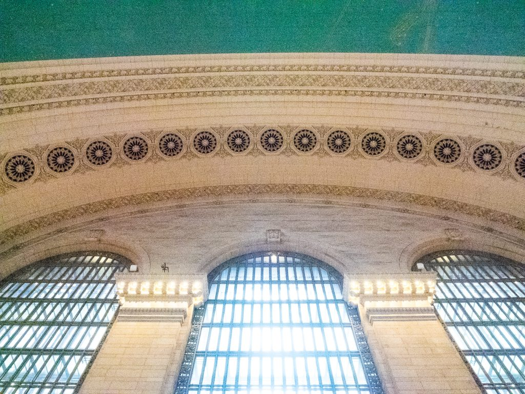 Visiting Grand Central Station, New York