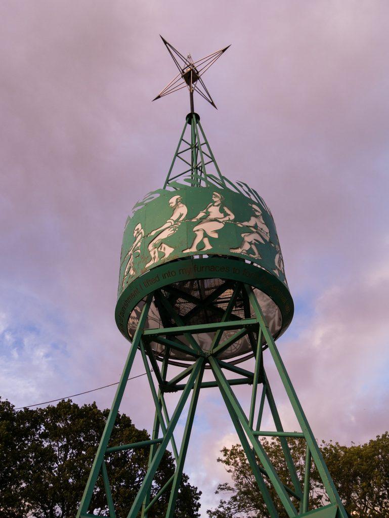 Tony Benn Tower at Glastonbury