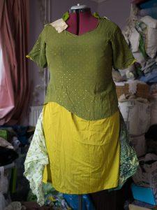 Making a handfasting dress