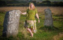 green fairy wedding dress