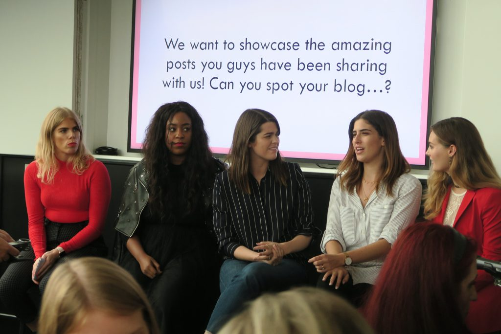 advice for going to a blogger event