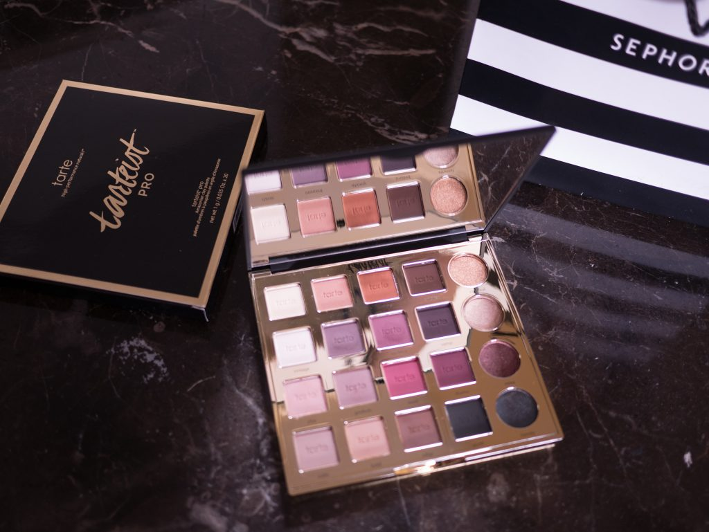 Tarte matte eyeshadow palette review