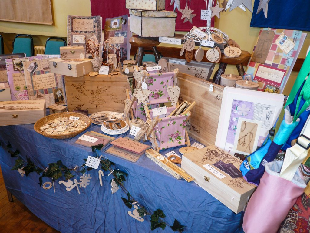 Craft stall table byHelenHobden
