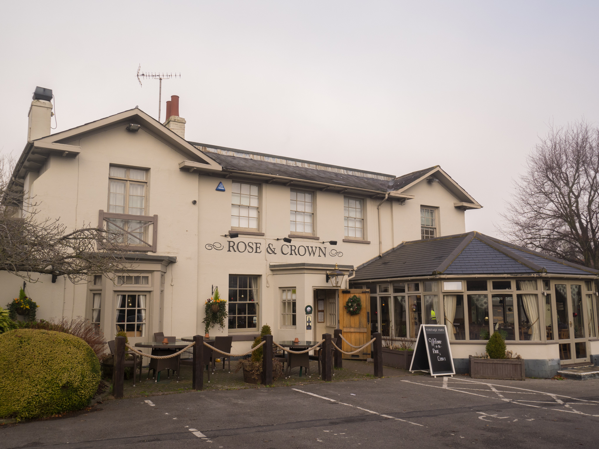 Review of the Rose and Crown in Dunton Green