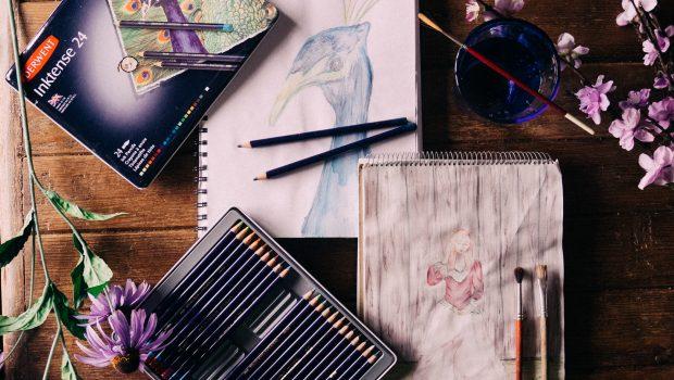 Derwent Inktense pencils review