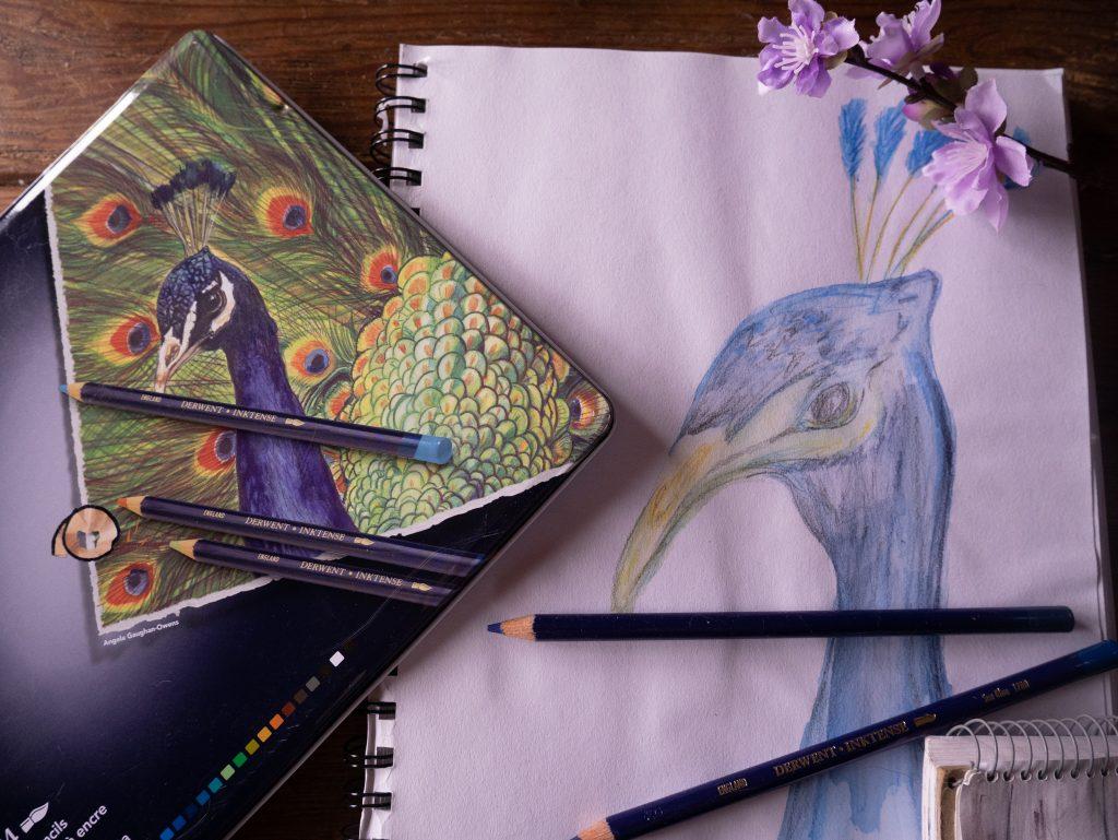 Inktense ink pencils review