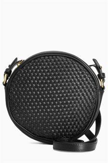 Next black circle bag