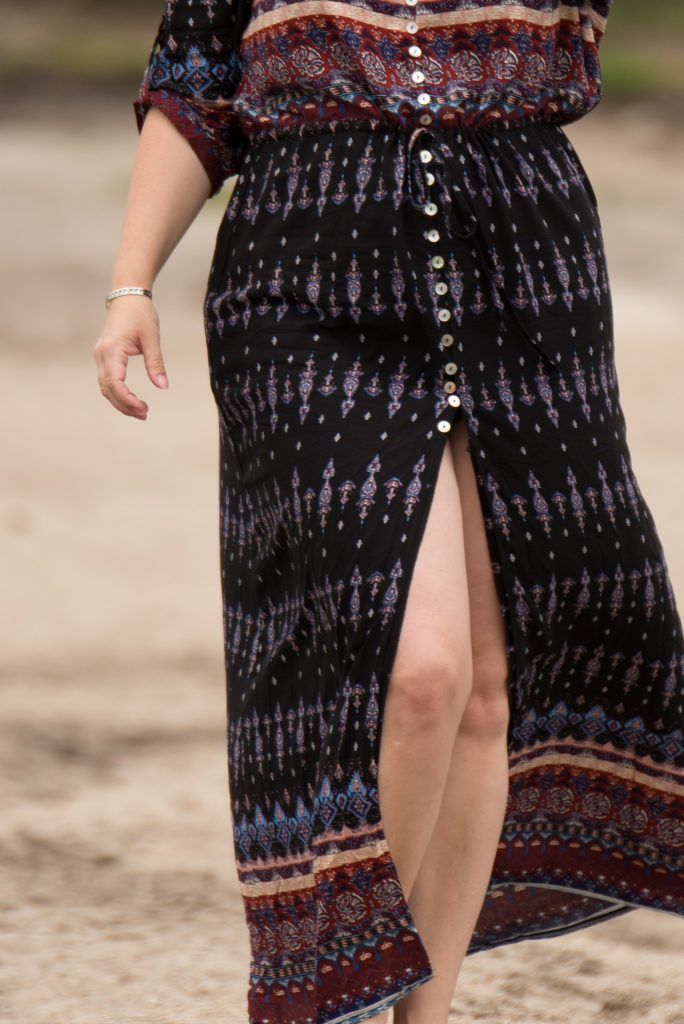 affordable boho maxi dress